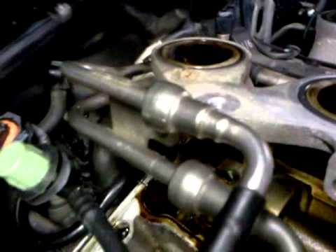 Cadillac Cts Throttle Body And Valve Cover Removal Youtube