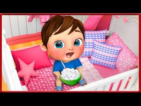 johny-johny-yes-papa-,-baby-shark-,-wheels-on-the-bus-,-happy-birthday-song---banana-cartoon-[hd]