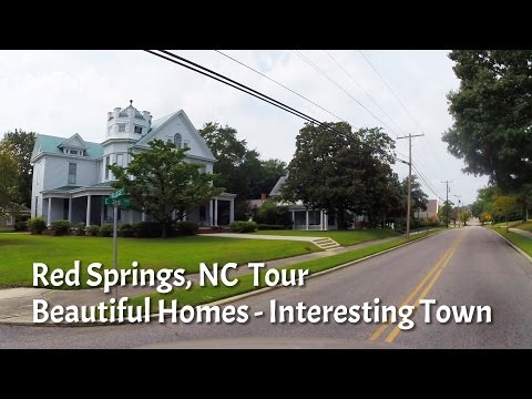Red Springs, NC - Robeson County - Beautiful and Interesting!