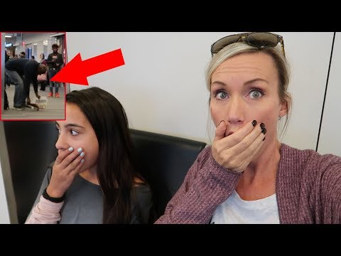 MOST BIZARRE AIRPORT INCIDENT! HOW DID THIS HAPPEN?!