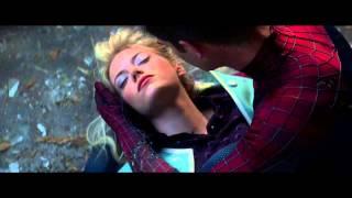 Самый грустный фрагментмоментотрывок из фильма Новый Человек паук Высокое напряжение  Смерть Гвен Ст