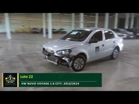 Lote 022, VW NOVOVOYAGE 1.6 CITY. 2013/2014.