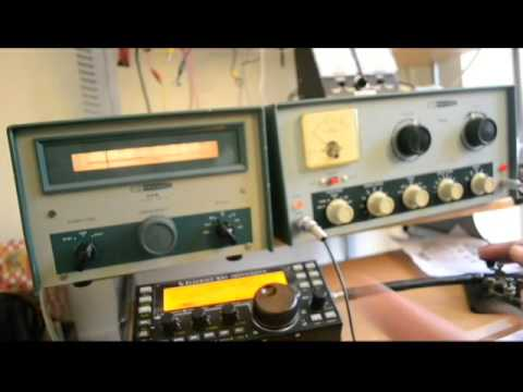 Demonstration of the Heathkit HG 10 VFO