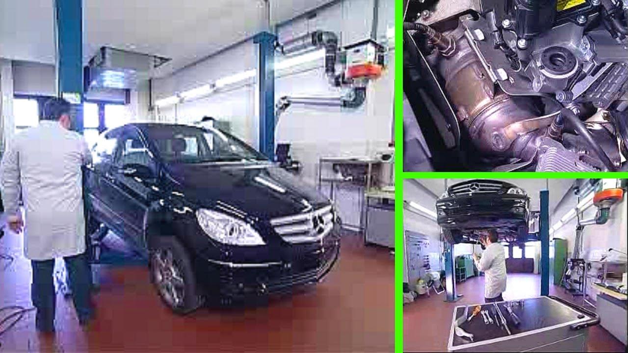Mercedes Benz B Klasse Z 252 Ndkerzenwechsel Youtube