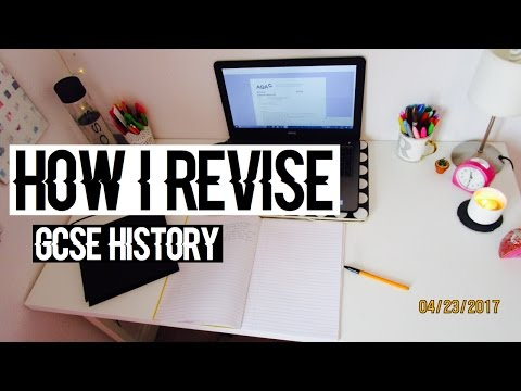 How I Revise GCSE HISTORY- Techniques and Resources