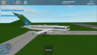 [Roblox] Air Europa Flight Business Class (A321)