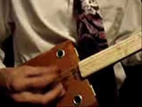 Hemingway classic 3 string cigar box guitar sound sample for Classic house string sound