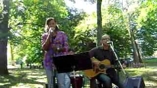 Hallelujah/ I could sing of your love forever (cover)