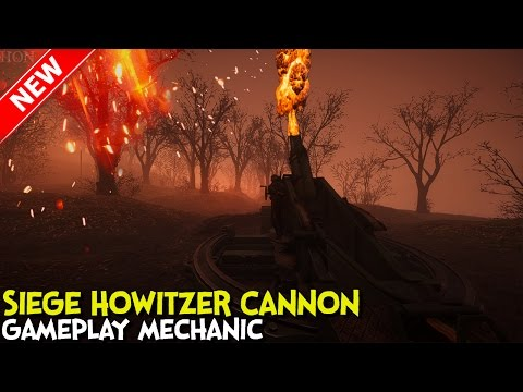 ►Battlefield 1 - Siege Howitzer Cannon Gameplay Mechanic - Verdun Heights - They shall not Pass