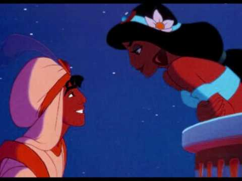 Aladdin   A whole new world [Lyrics]   YouTube