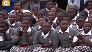 VIDEO: RMS chairman Dr. SK Macharia honours Kenya's top teacher