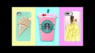 DIY Phone Case Life Hacks! 5 Phone DIY Projects & Popsocket Crafts! ||phone case diys