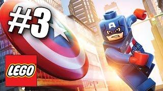 КАПИТАН АМЕРИКА! LEGO Мстители: Эра Альтрона! #3 (60 FPS) Marvel's Avengers