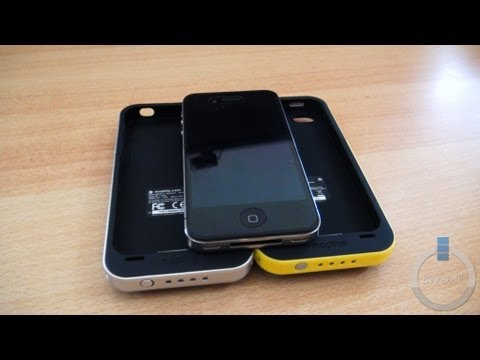 Mophie Juice Pack Plus & Air Battery Case For iPhone 4 & 4s Review - BWOne.com