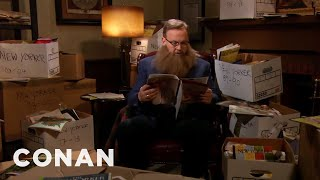 "Andy Catches Up On 30 Years Of ""The New Yorker"" - CONAN on TBS"