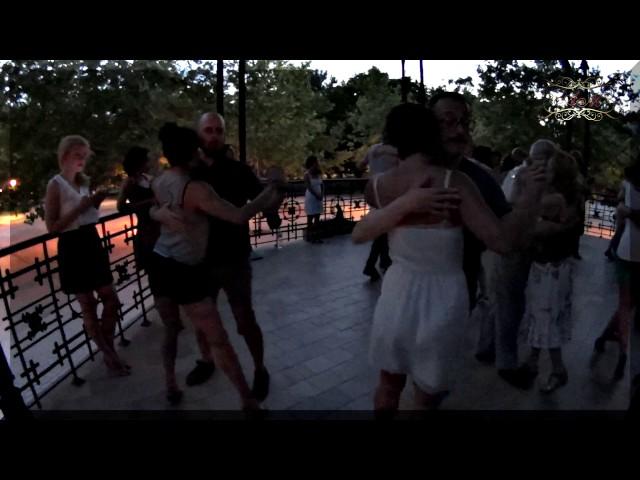Madrid, milonga del Templete  Tango los domingos en España