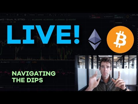 LIVE: Crypto Market Falls HUGE! Live Analysis + Discussion