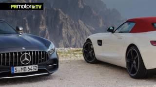 The new Mercedes-AMG GT & GT C Roadster - Material Completo en PRMotor TV Channel