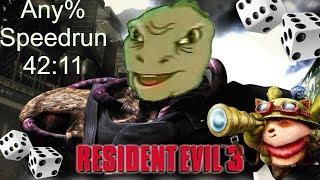 Resident Evil 3: Nemesis Speedrun - 42:11 - Any%