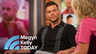 Ricky Martin Talks About His Role In Versace 'Crime Story' On FX | Megyn Kelly TODAY