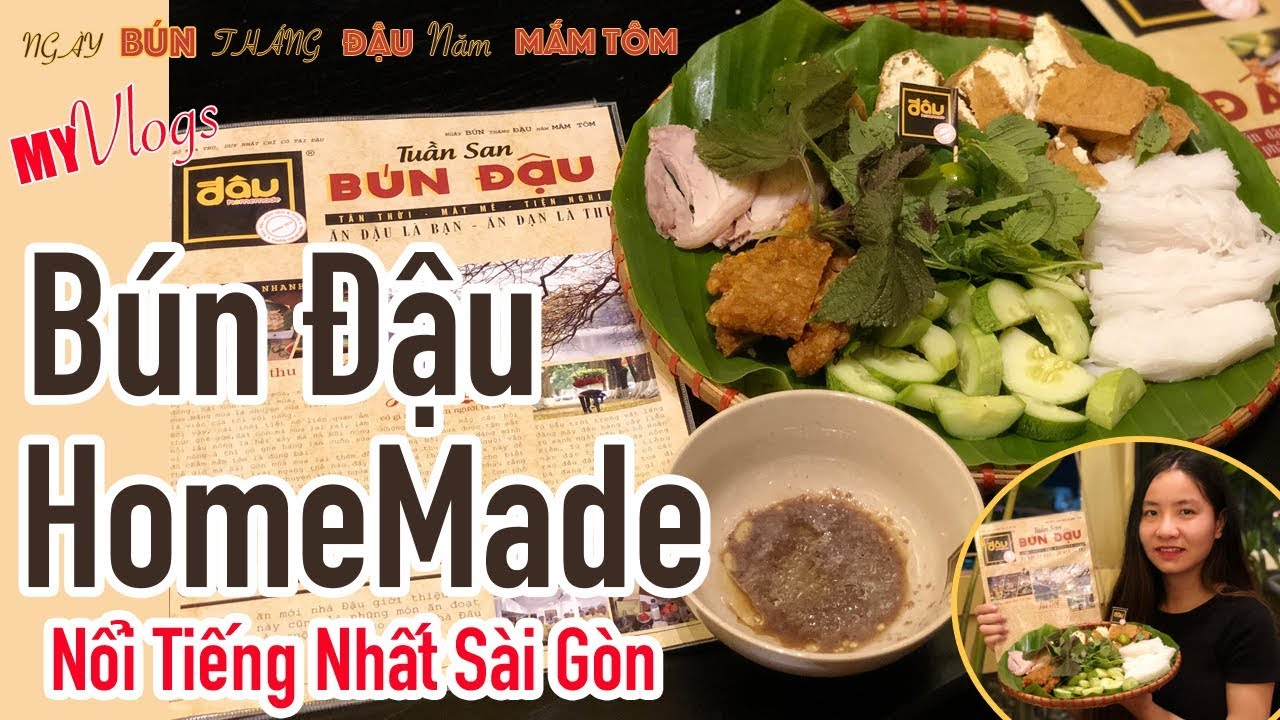 BÚN ĐẬU HOMEMADE/ Quán Bún Đâụ Ngon Nhất Sài Gòn Có Gì Mà Khiến Sao Việt Mê Mẩn / My Vlogs