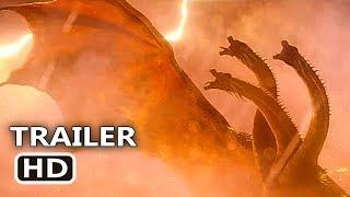 "GODZILLA 2 ""3 Heads Monster"" Trailer (2019) Millie Bobby Brown Movie HD"