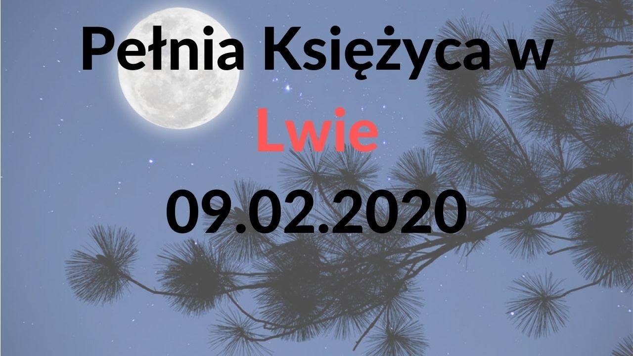 Pełnia Księżyca w Lwie.