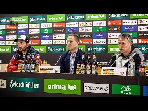 23. Spieltag | SGD - FSV | Pressekonferenz nach dem Spiel