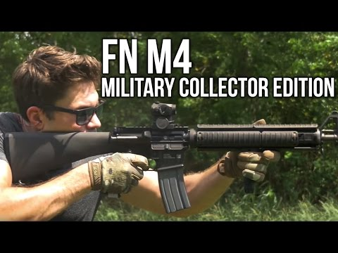 FN M4 and M16 Military Collector Edition Rifle Review