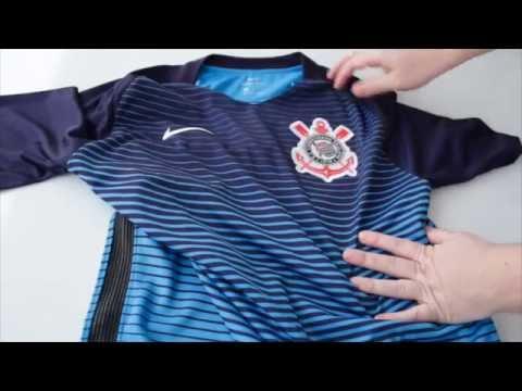 Terceira camisa do Corinthians 2016. Veja unboxing feito pelo gb ... 1b851e84822db