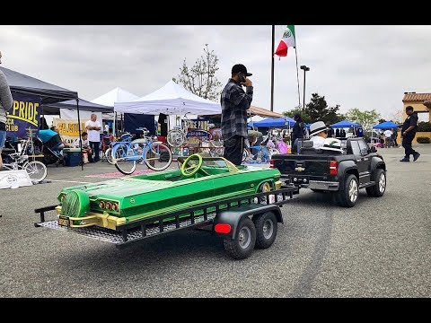 Uniques Lowrider Bike/Pedal car Show @ Hooters -inland empire 05/19/18