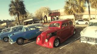 "Car show ""Run to the Sun"" in Myrtle Beach, SC March 2015"