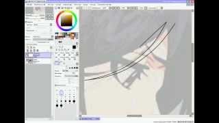 Видео-урок в Paint tool SAI (без звука)(Решила сделать свой урок как делать переделки в программе Paint tool SAI., 2012-05-11T18:33:02.000Z)