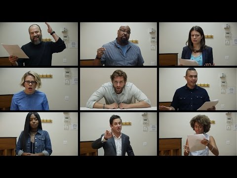 "Broadway Stars Audition for ""Trump on Broadway!"""