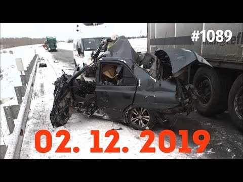☭★Подборка Аварий и ДТП от 02.12.2019/#1089/December 2019/#авария