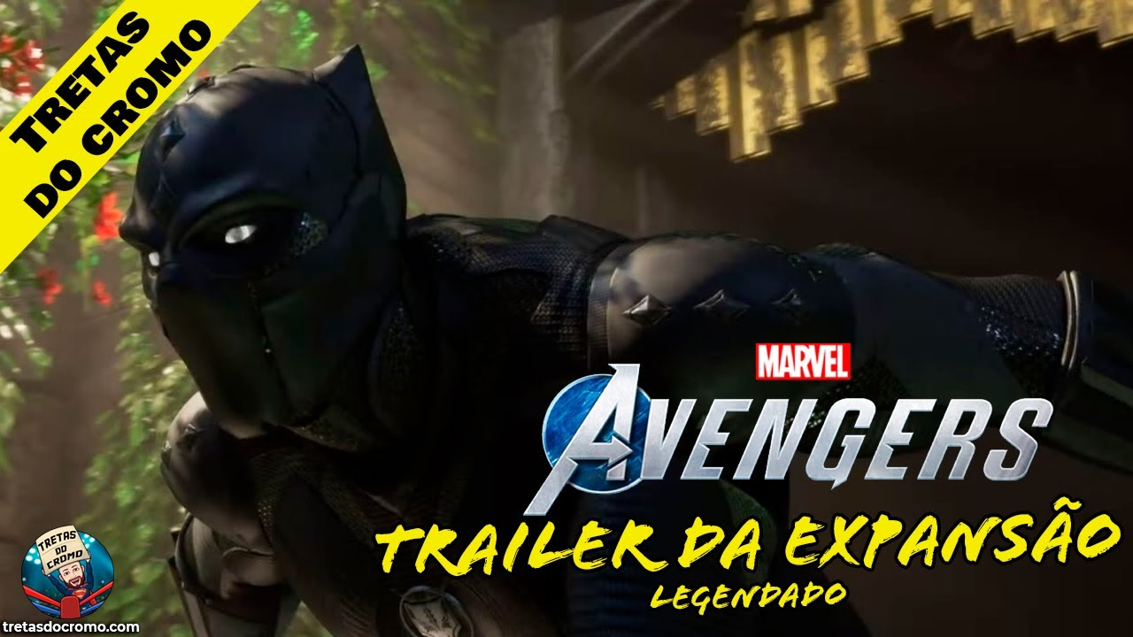 Marvel's Avengers: Expansão de Black Panther ganha trailer cinemático (Legendado)
