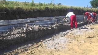 ERNYMAK stavba gabionu- postup