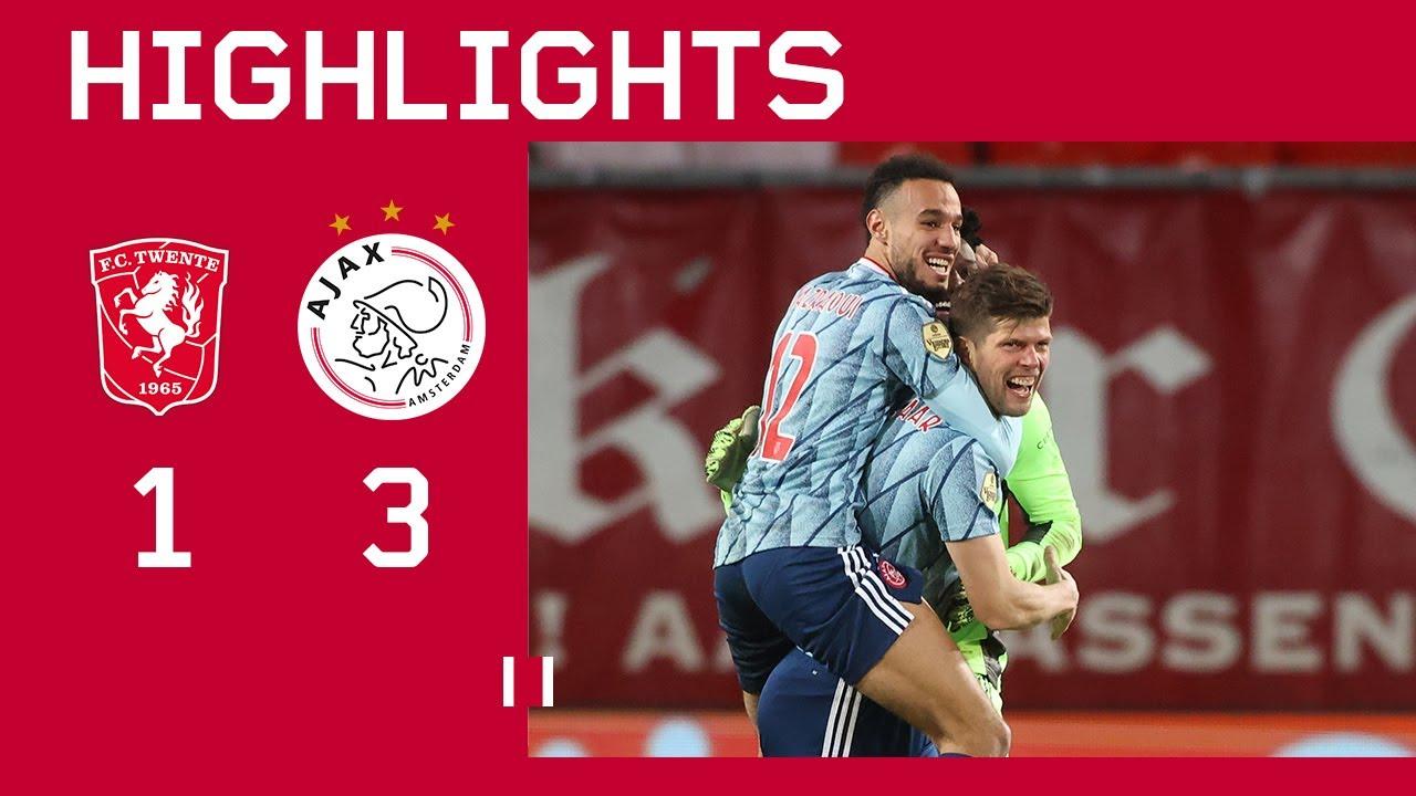 Highlights | FC Twente - Ajax | Eredivisie | HUNTELAAR TO THE RESCUE - скачать с YouTube бесплатно