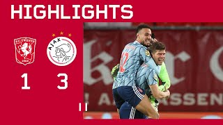 Highlights | FC Twente - Ajax | Eredivisie | HUNTELAAR TO THE RESCUE