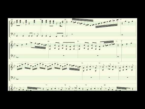 Smoke On The Water Organ Score