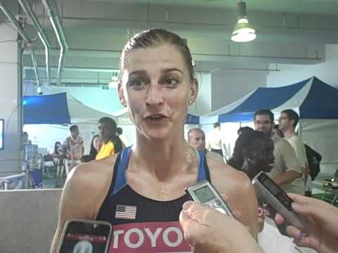 Lauren Fleshman on Making the 5000m Final at the 2011 World Championships