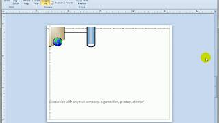 9.1 Exploring Print Preview in Visio 2010