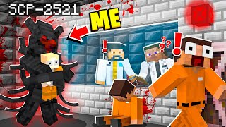 I Became SCP-2521 In MINECRAFT! - Minecraft Trolling Video