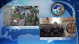 Space Station Crew Discusses Life in Space with Georgia Students