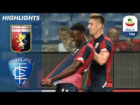 Genoa 2-1 Empoli   Two First Half Goals earn win for Genoa against Empoli   Serie A
