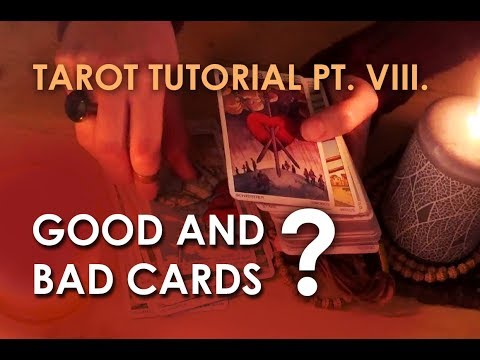 [ASMR] Relaxing Tutorial for Beginnig Card Readers - VIII. The Myth of Positive and Negative Cards