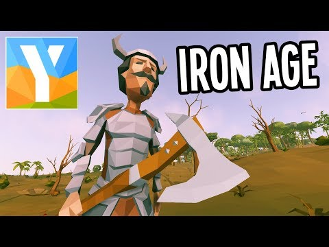 Ylands - CRAFTING IRON WEAPONS and ARMOR -...
