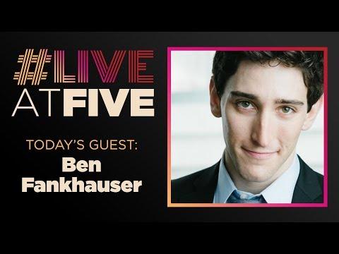 Broadway.com #LiveatFive with Ben Fankhauser