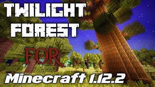 A (CONTINUED) HALLOWEEN IN THE TWILIGHT FOREST! | Part 2 | Minecraft 1.12.2 mod showcase | Let's try