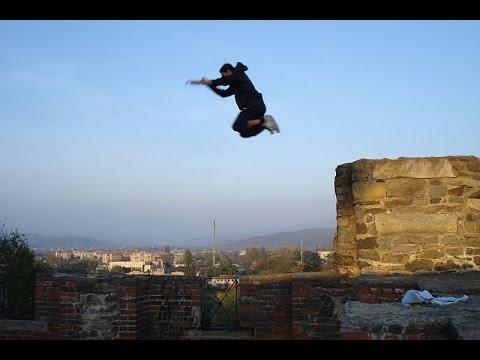 Нереальный паркур 2015 - Миша Гараж!